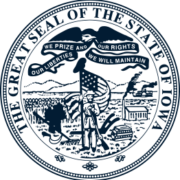 State of Iowa Seal logo